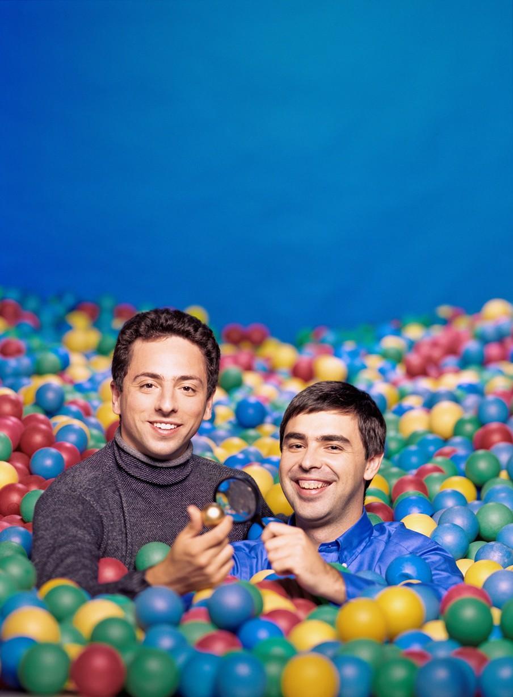 Larry Page en Sergey Brin 2
