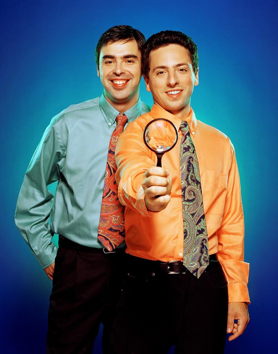 Larry Page en Sergey Brin 3