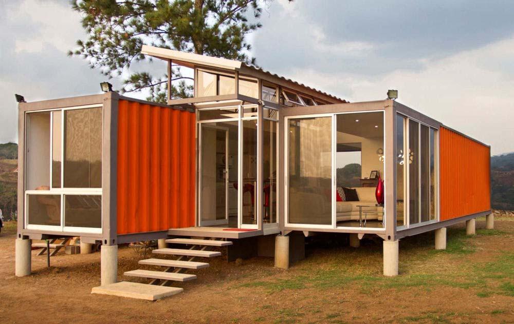 zeecontainer-huis